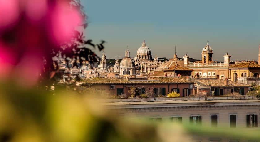 romantisch hotel rome